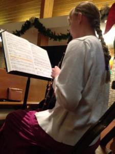 Sarah D playing